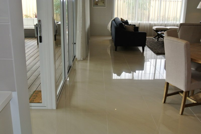 Polished Porcelain Floor